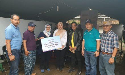 Bank bjb KCK Banten Donasi Rp250 juta untuk Korban Tsunami Banten