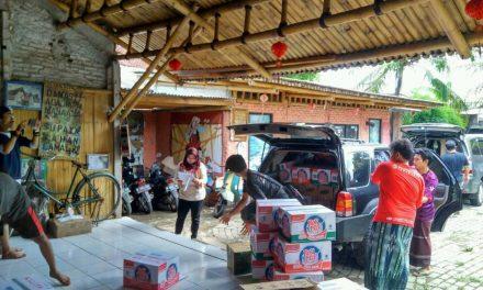 Grantinger, Aktivis Literasi Peduli Korban Tsunami Banten