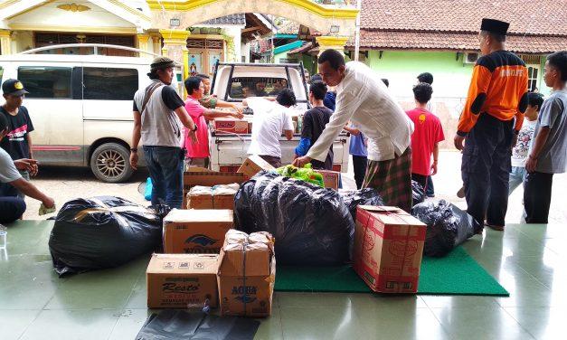 Warga Cibeber Galang Dana untuk Korban Tsunami Selat Sunda