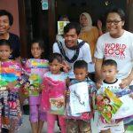 Gebyar Literasi Perdana di TBM Rumah Baca Garuda Disambut Meriah