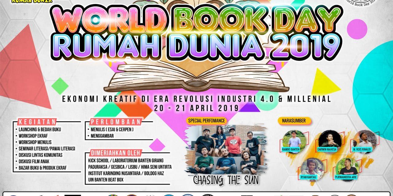 World Book Day Rumah Dunia Kembali Digelar!