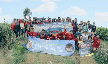 Pendakian Part 3; Karang Taruna Lengkong Gudang Kembali Digelar