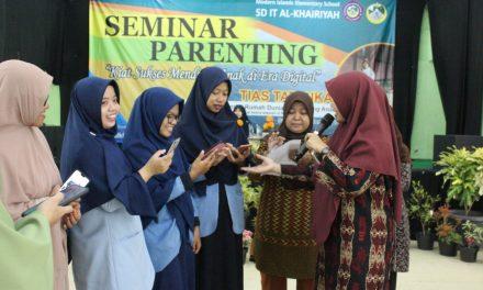 Tias Tatanka: Belajar Mengasuh di SDIT Al-Khairiyah Cilegon