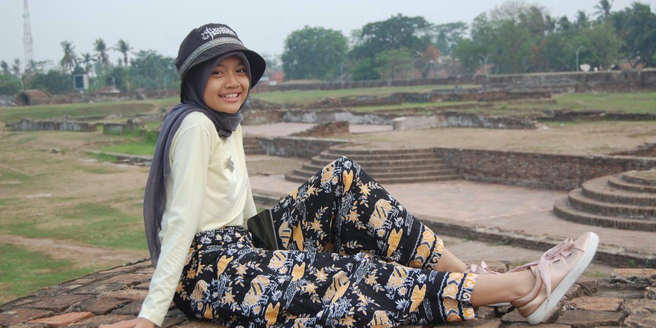 Aida Caren: Walau Sibuk, Sekolah Tetap Nomor Satu