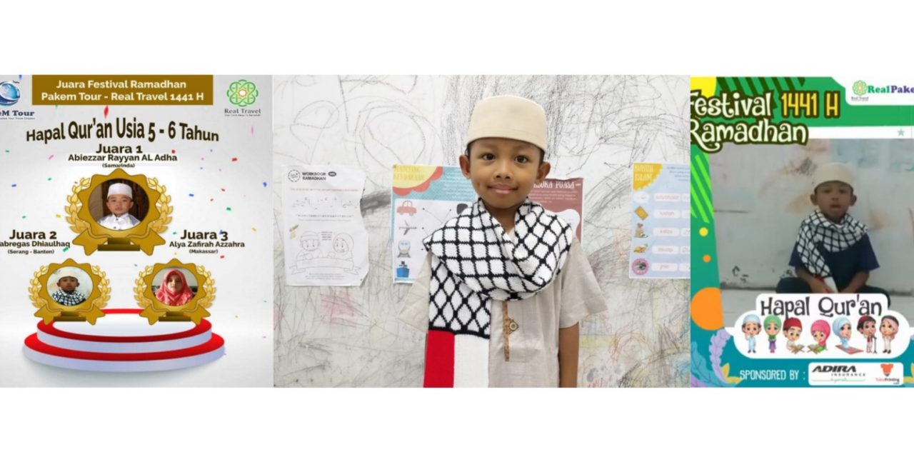 Faris Fabregas Asal Banten Juarai Lomba Tilawah dan Tahfiz Qur'an Se-Indonesia