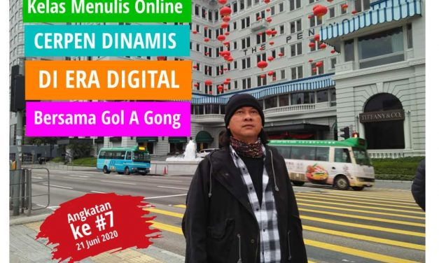 Gol A Gong Membuka Kelas Menulis Online