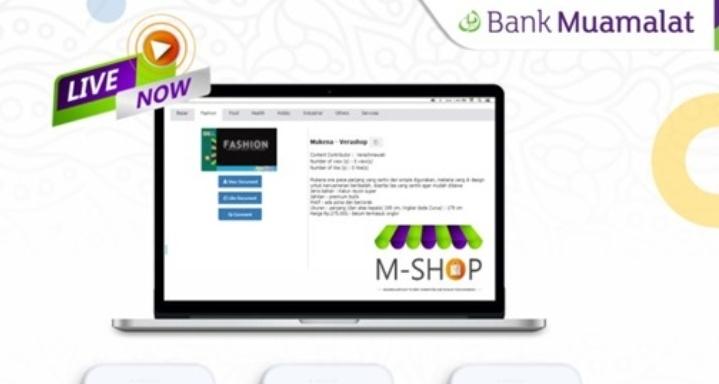 Bank Muamalat Indonesia Luncurkan M-Shop-Muamalah Place