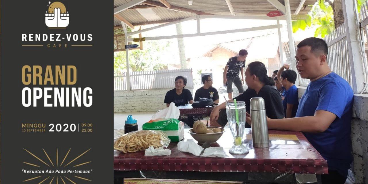 Grand Opening Rendez-Vous Cafe: Disambut Hangat Pengunjung