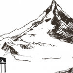 Surau Kecil di Kaki Gunung