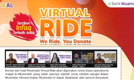 Bank Muamalat Gelar Virtual Ride