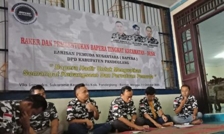 Raker DPD Bapera Pandeglang: Bapera Organisasi Berorientasikan Kreativitas Kepemudaan