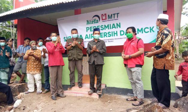 LAZ Harapan Dhuafa dan MTT Telkomsel Resmikan Fasilitas Sarana Air Bersih dan MCK di Kampung Mualaf Baduy