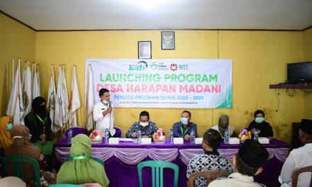 LAZ Harfa, Amal Terbaik Madania, Dan MTT Foundation Gagas Desa Harapan Madani di Lebak
