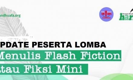 Lomba Flash Fiction Capai 100 Peserta