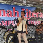 Sosialisasi Kampung Literasi di Kemah Literasi 2020
