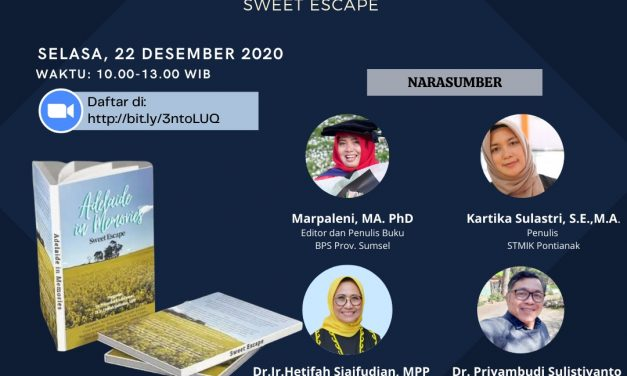 "Buku ""Adelaide in Memories Sweet Escape"" Terbit di Hari Ibu"