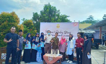PKBM Insan Madani Kota Serang Gelar Pelepasan dan Dialog Literasi