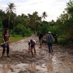 Warga Paniis Ujung Kulon Tagih Janji Pemerintah Soal Perbaikan Jalan