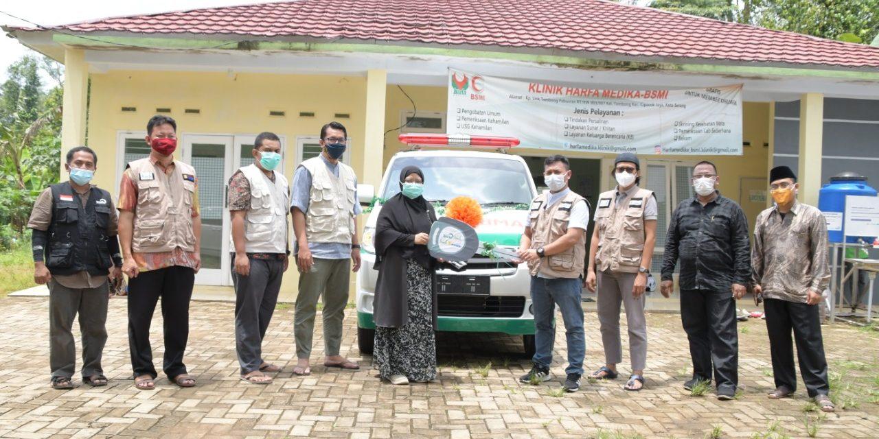 Bergerak untuk Umat, LAZ An-Nur PT Indonesia Power Serahkan 1 Unit Ambulance untuk LAZ Harfa