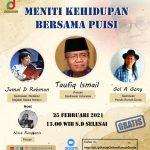 Ngobrolin Puisi Bersama 3 Sastrawan: Taufiq Ismail, Jamal D Rahman, dan Gol A Gong