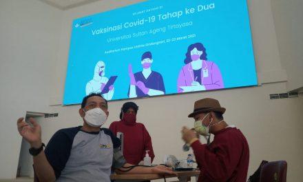 Vaksin Kedua, Untirta Siap Kuliah Offline