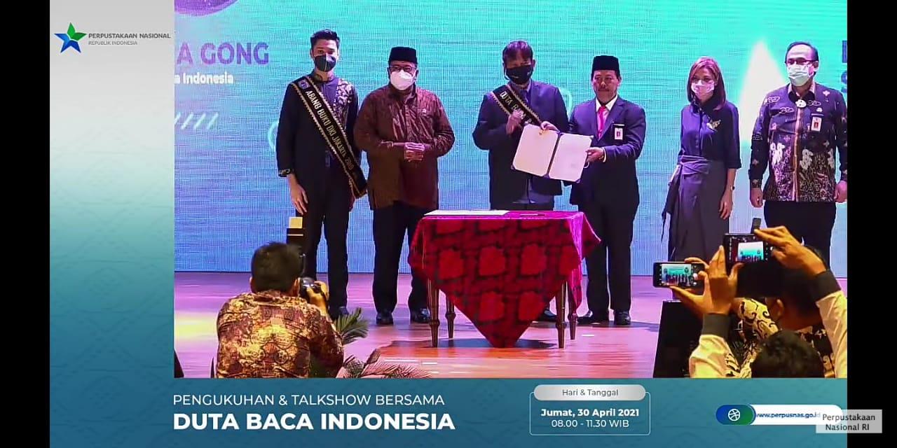 Sah! Gol A Gong Resmi Jadi Duta Baca Indonesia