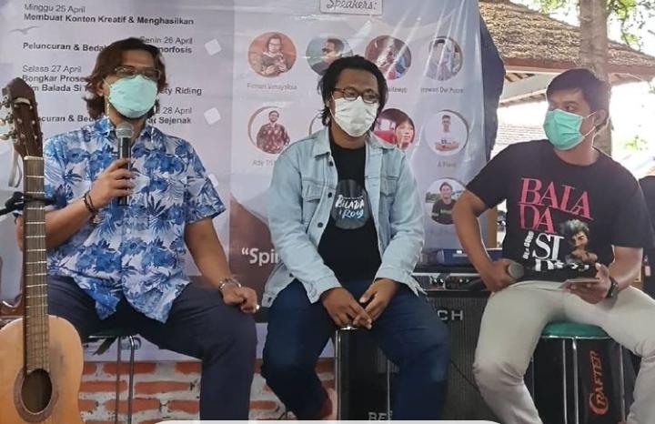 Dua Aktor di Balik Layar Beberkan Proses Pembuatan Film BSR
