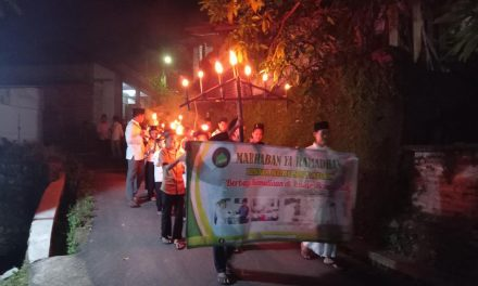 Sambut Ramadhan RISMA Nurussa'adah Gelar Pawai Obor