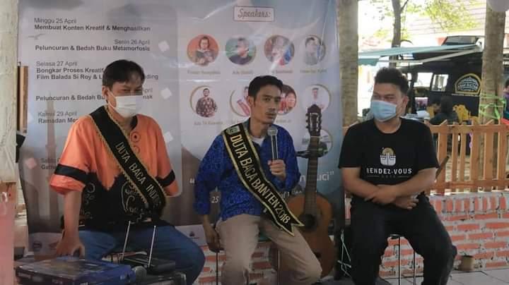 Duta Baca Banten dan Duta Baca Indonesia Informal Meeting Bersama Pegiat Literasi Banten
