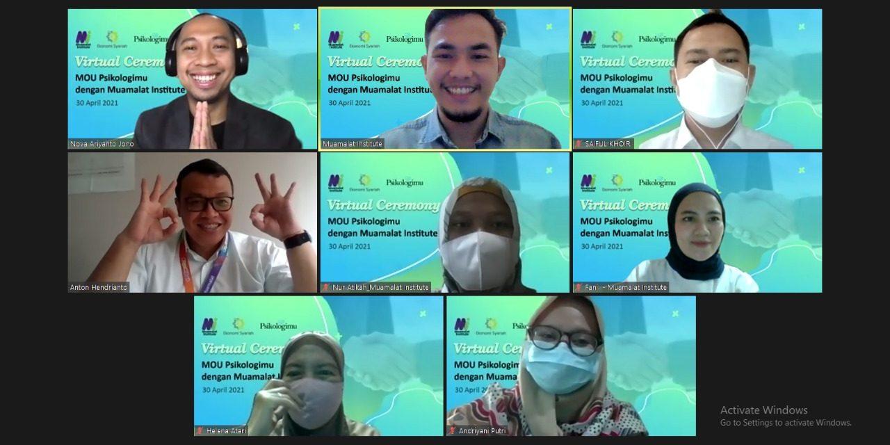 Muamalat Institute Teken MoU dengan Psikologimu Guna Membangun Mental SDM Indonesia