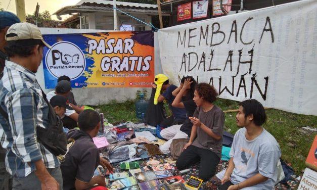 Berkah Ramadan, Potras Adakan Pasar Gratis
