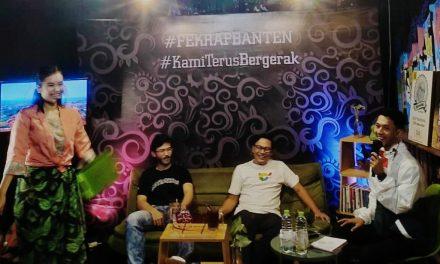 Sukses! Fekraf Banten Selenggarakan Talkshow Creative Leaders
