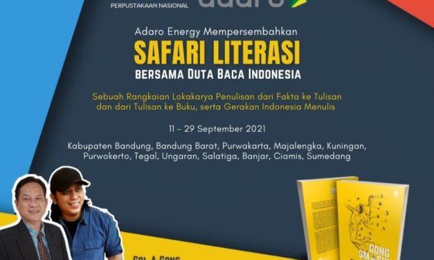 Safari Literasi, Gelorakan Gerakan Indonesia Menulis